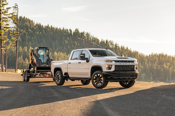 004 Trucks That Tow 20000 Pounds 2020 Chevrolet Silverado 2500hd