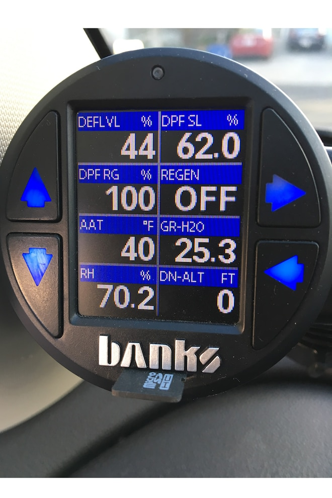 004 Winterize Diesel Exhaust Fluid Def Percentage Gauge