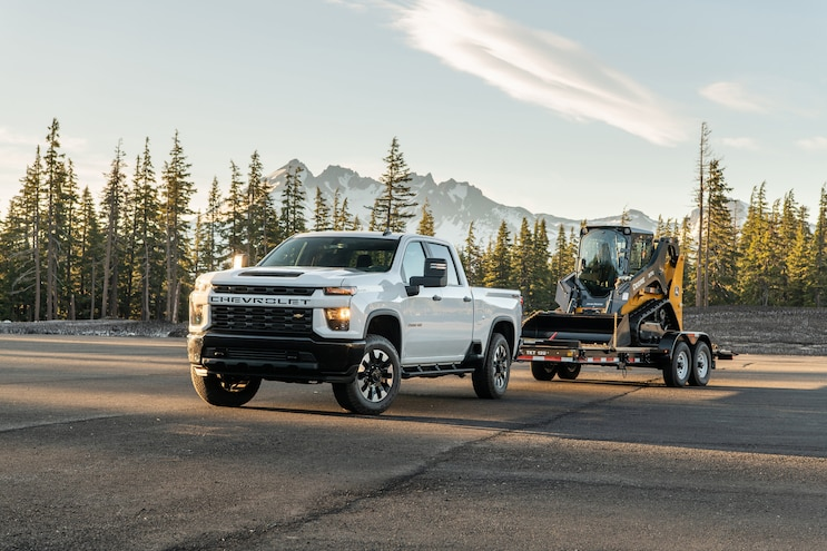 005 Trucks That Tow 20000 Pounds 2020 Chevrolet Silverado 2500hd