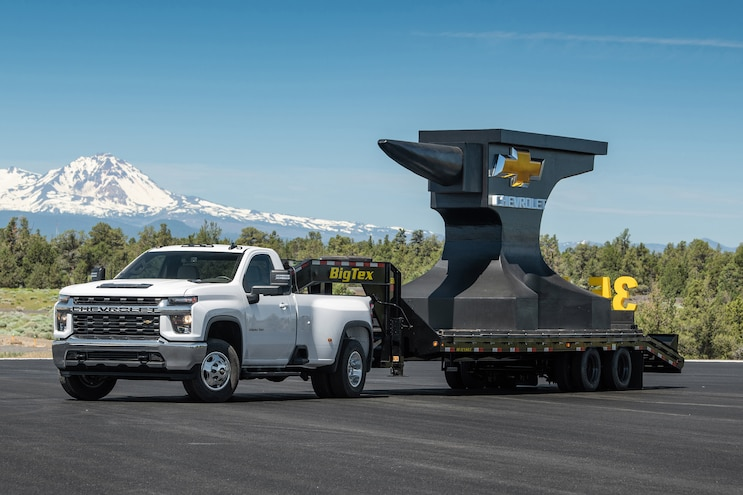 New Trucks That Tow 30,000 Pounds or More