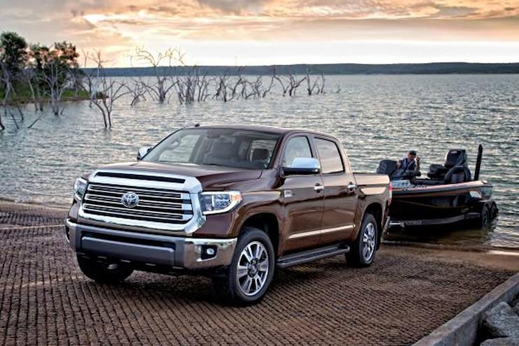 015 Trucks That Tow 10000 Pounds Toyota Tundra