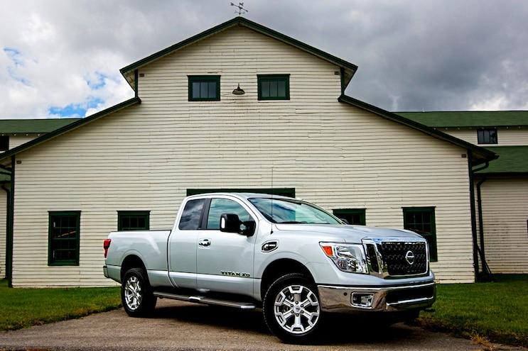 018 Trucks That Tow 10000 Pounds Nissan Titan Xd