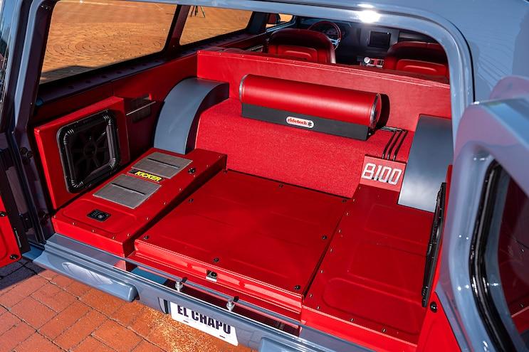 1976 Ford B100 El Chapo Interior Rear