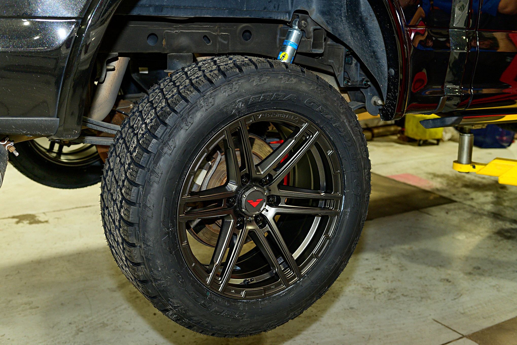 tires wheels shocks ford upgrading grappler g2