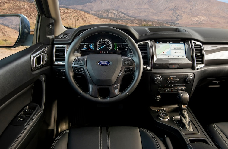 2019 Ford Ranger Lariat Fx4 Ptoty Interior
