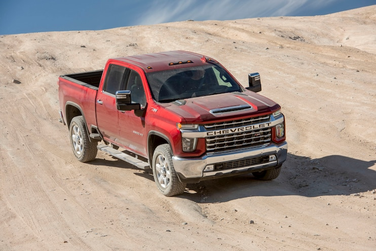 2020 Chevrolet Silverado 2500hd Ltz Ptoty Off Road