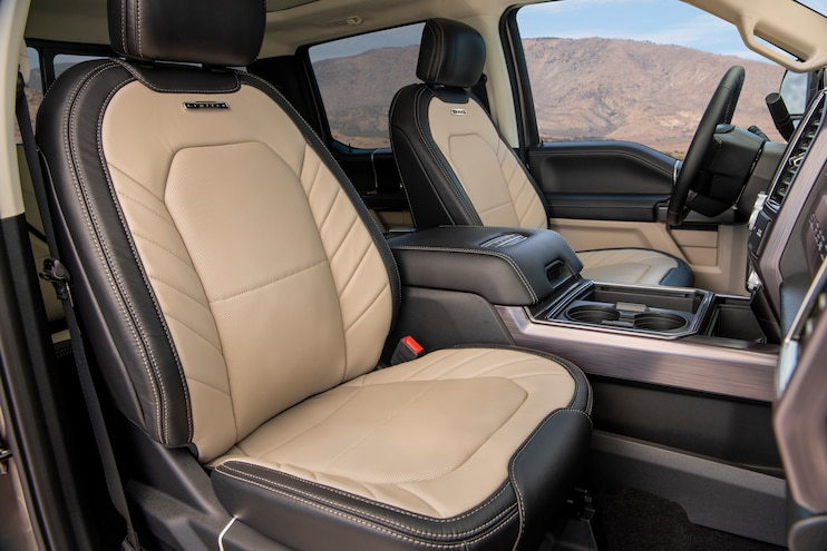 2020 Ford F 250 Super Duty Limited Interior Seats