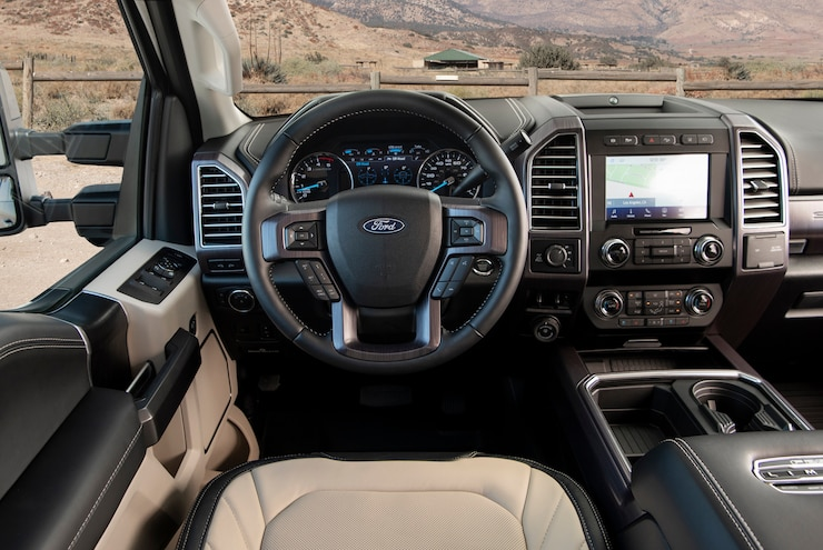 2020 Ford F 250 Super Duty Limited Interior