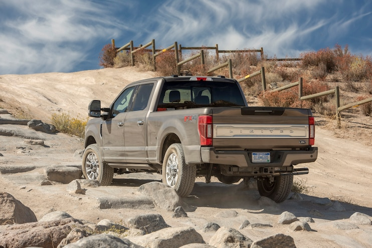 2020 Ford F 250 Super Duty Limited Off Road Rear