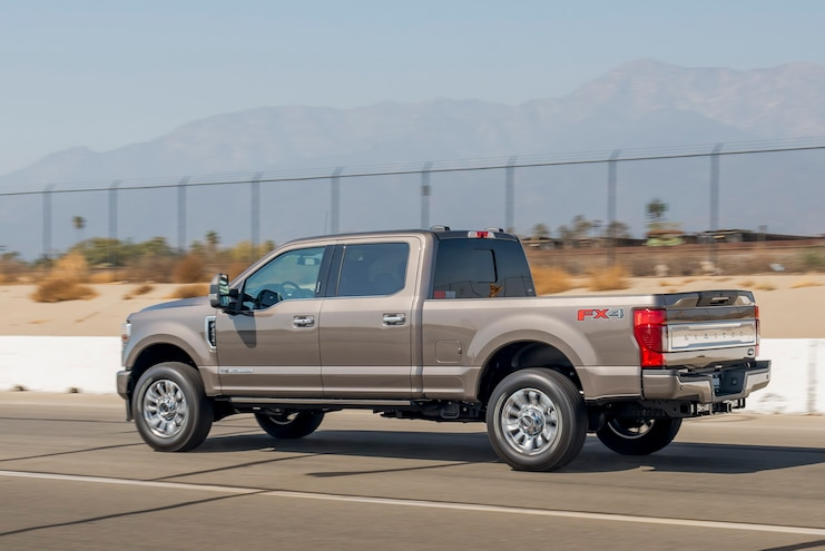 2020 Ford F 250 Super Duty Limited Side