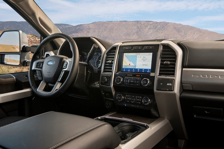 2020 Ford F 250 Super Duty Tremor Interior
