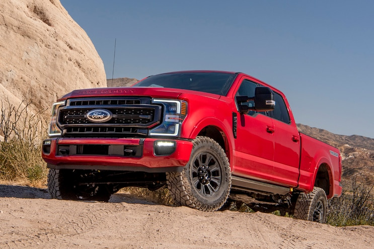 Ford F-250 Super Duty Tremor: Just a Big, Lifted Truck