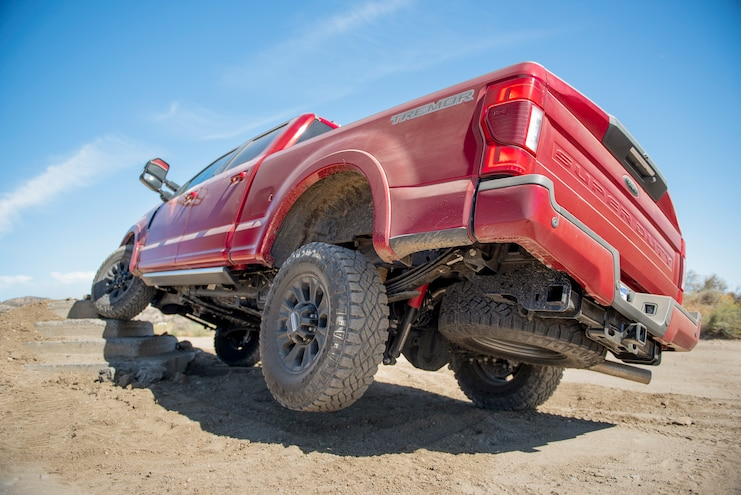 2020 Ford F 250 Super Duty Tremor Off Road Rear