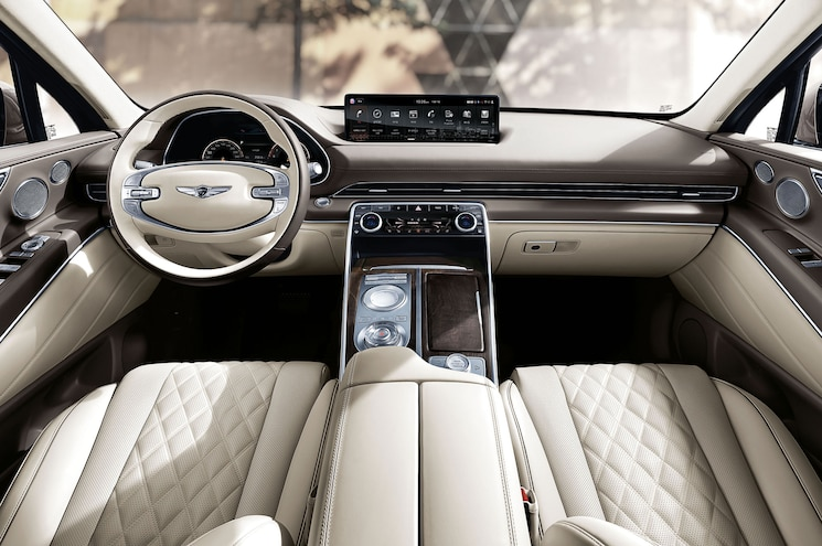2020 Genesis Gv80 Interior Dashboard