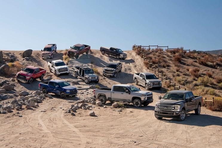 2020 Pickup Truck Of The Year Final Score 2