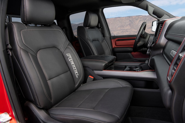 2020 Ram 1500 Rebel Ecodiesel Ptoty Interior Seats