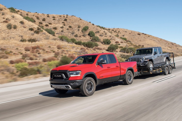 2020 Ram 1500 Rebel Ecodiesel Ptoty Towing