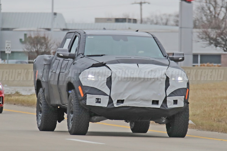 2021 Ram Rebel TRX Spied With Hellcat V-8