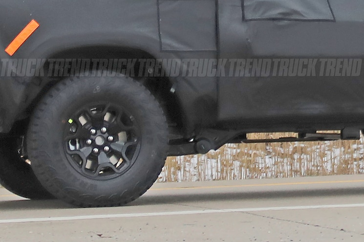 2021 Ram 1500 Rebel Trx Spied Wheel And Tire