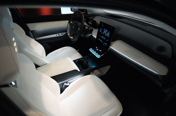 2022 Fisker Ocean Interior Dashboard