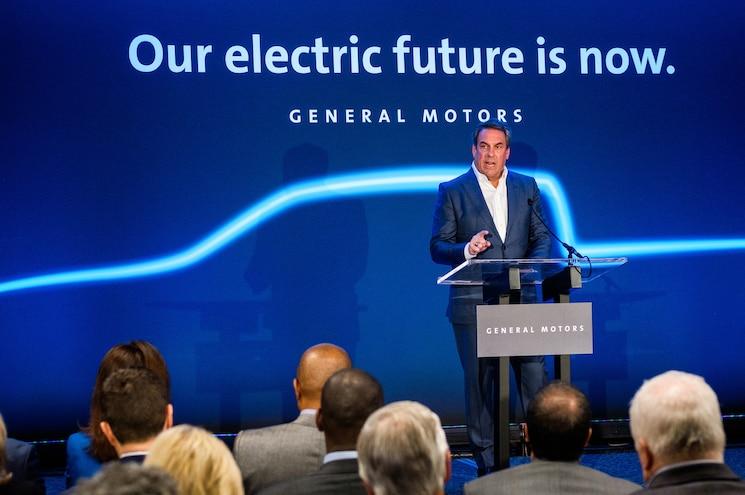 Detroit Hamtramck Electric Vehicle Announcement Michigan Governor Mark Reuss