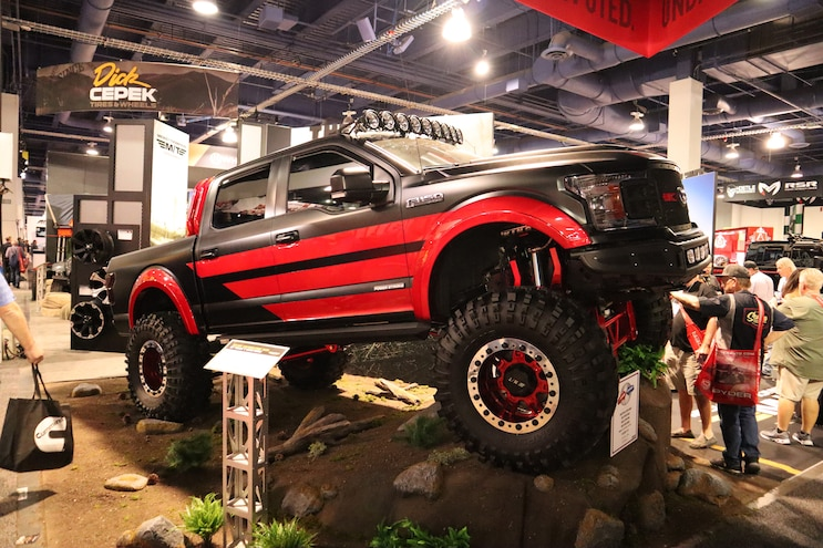 Sema Top 25 Lifted Trucks 09