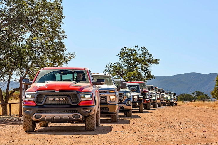 2020 Pickup Truck of the Year: Specifications as Tested