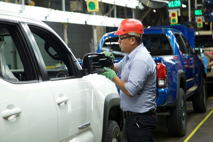 Toyota Motor Manufacturing Baja California Tacoma