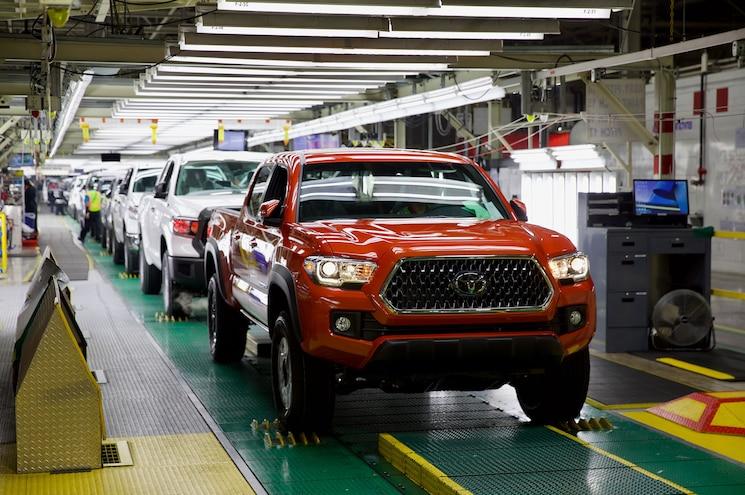 Toyota Motor Manufacturing Texas Tacoma Tundra
