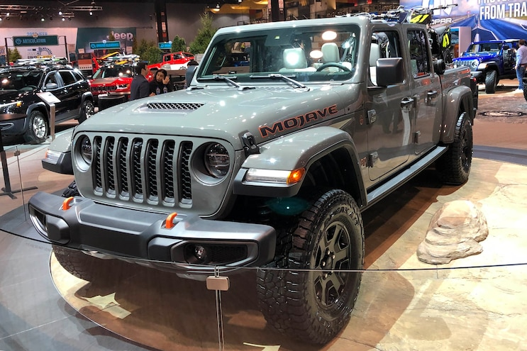 Up Close With The 2020 Jeep Gladiator Mojave