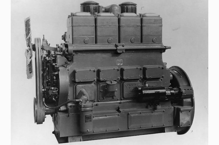 001 Cummins Engines 100 Year History Model K