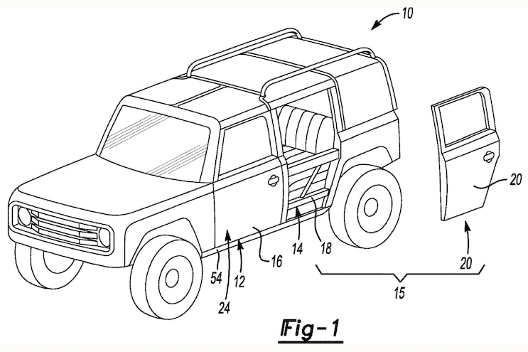 Removable Doors That Reveal Tube Doors for the 2021 Ford Bronco