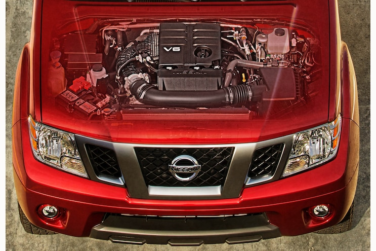 002 2020 Nissan Frontier Engine