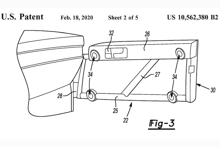 003 Ford Bronco 2021 Patent Feb