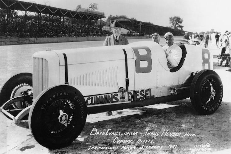 004 Cummins Engines 100 Year History Indy Race Car