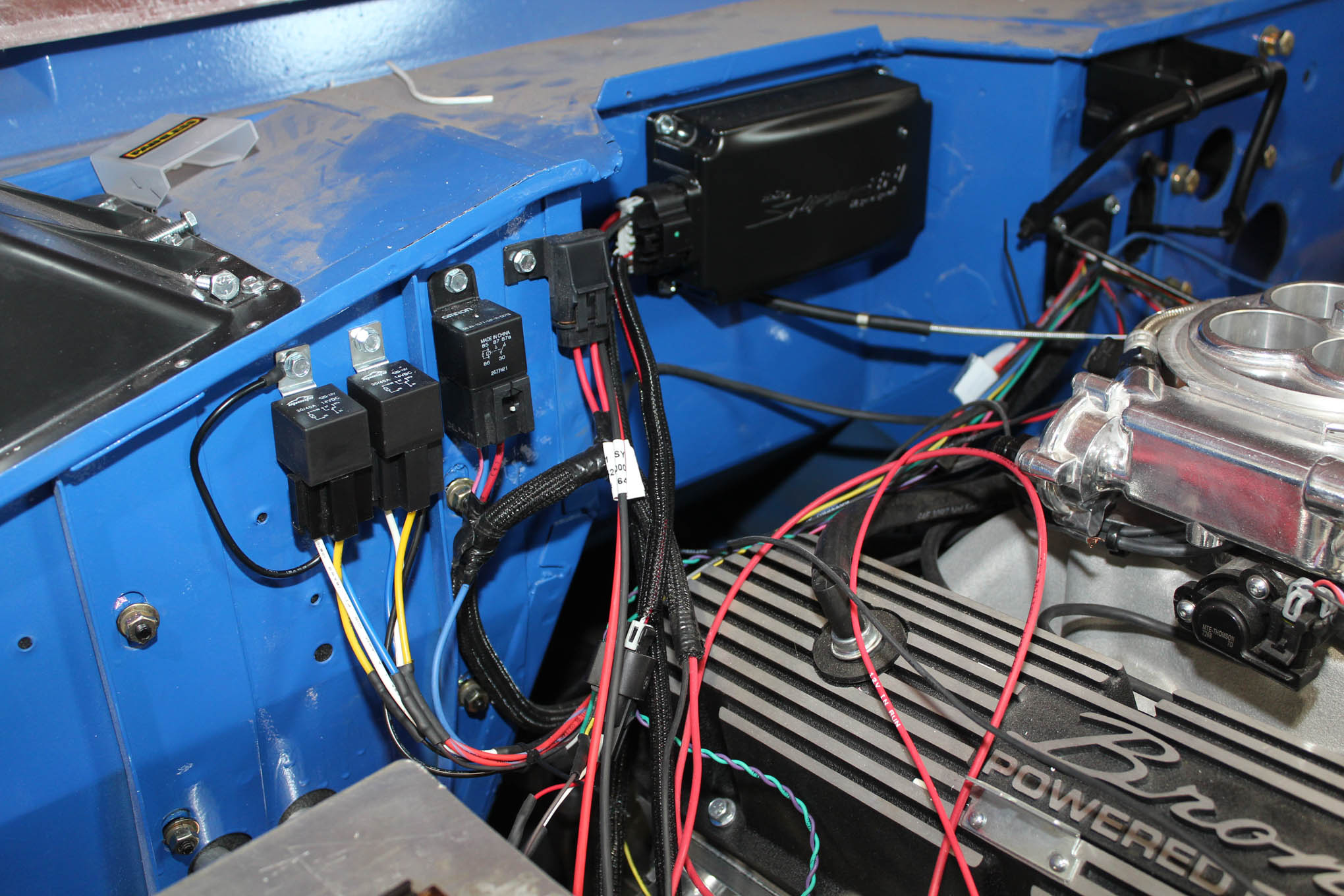 Early Bronco Painless Wiring Harness and Classic Instruments Gauge ClusterTruck Trend
