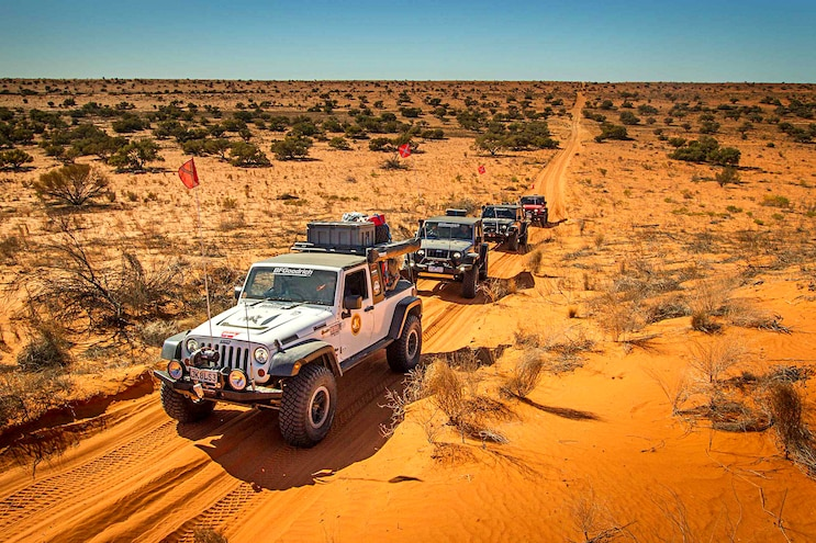 East to West Australian Outback Jeep Expedition: Part 1