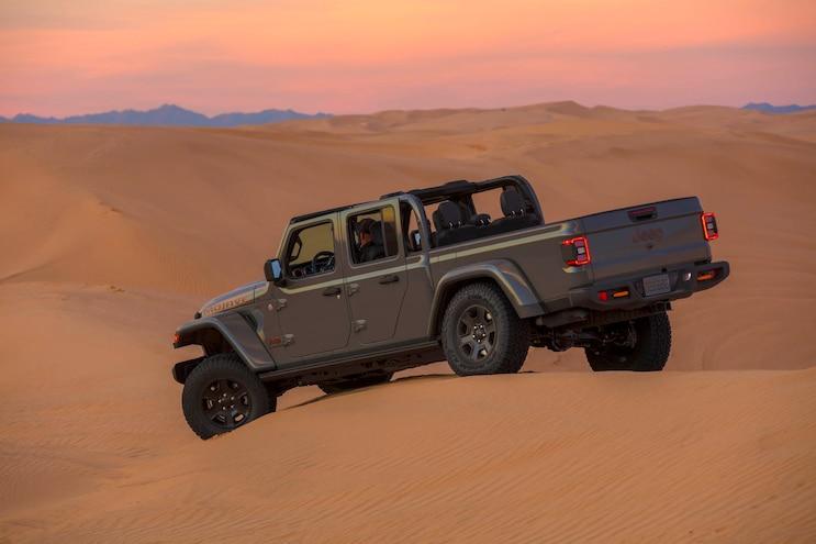 09 Jeep Gladiator Mojave Frame Reinforcements