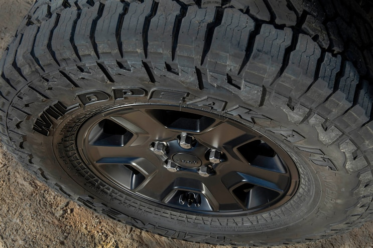 11 Jeep Gladiator Mojave Tire And Wheel Package