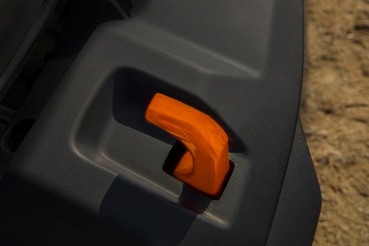 15 Jeep Gladiator Mojave Package Orange Tow Hooks