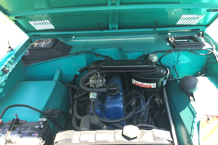 1966 Ford Bronco Hers For Sale Exterior Engine Bay