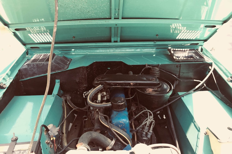 1966 Ford Bronco His For Sale Exterior Engine Bay