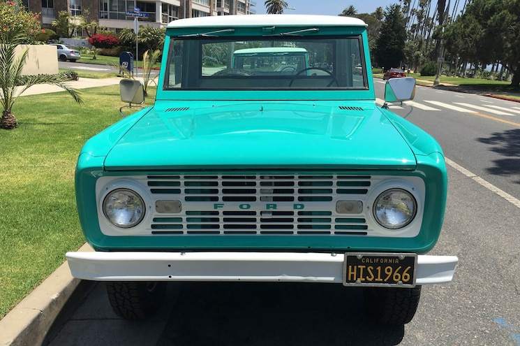 1966 Ford Bronco His For Sale Exterior Front View