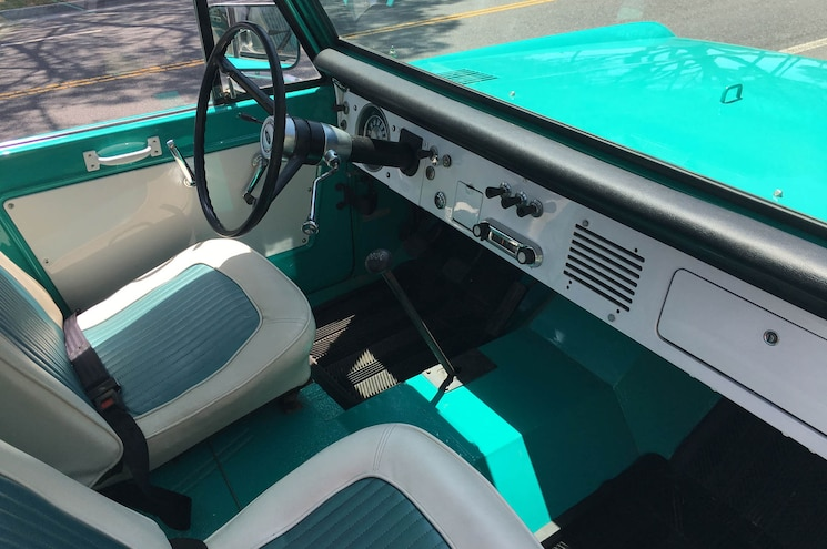 1966 Ford Bronco His For Sale Interior Cabin