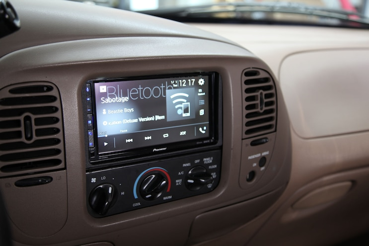 We Upgrade Our F-150's Audio Once Again with Pioneer Electronics and Optima Battery