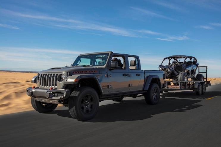 20 Jeep Gladiator Mojave Package Towing
