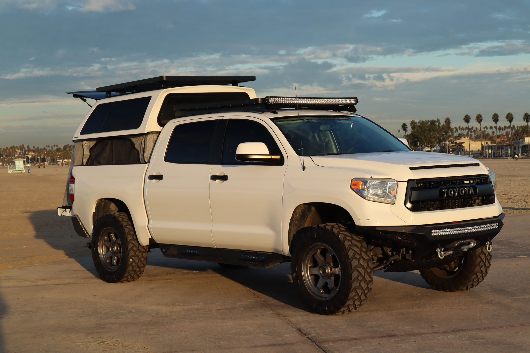 Fuel Wheels And Led Lighting Wiring On 2014 Toyota Tundra