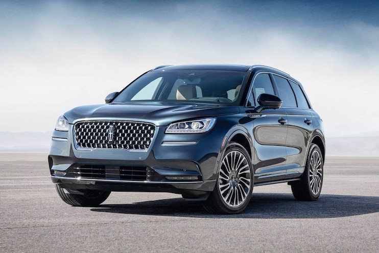 2020 Lincoln Corsair First Drive Front 3q