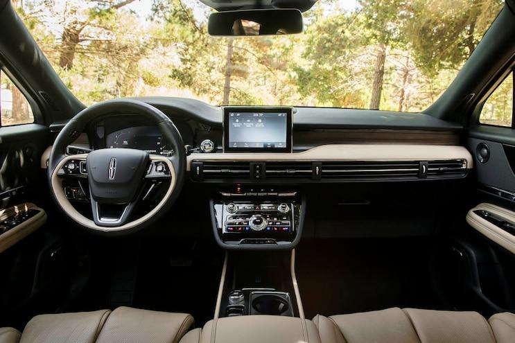 2020 Lincoln Corsair First Drive Interior