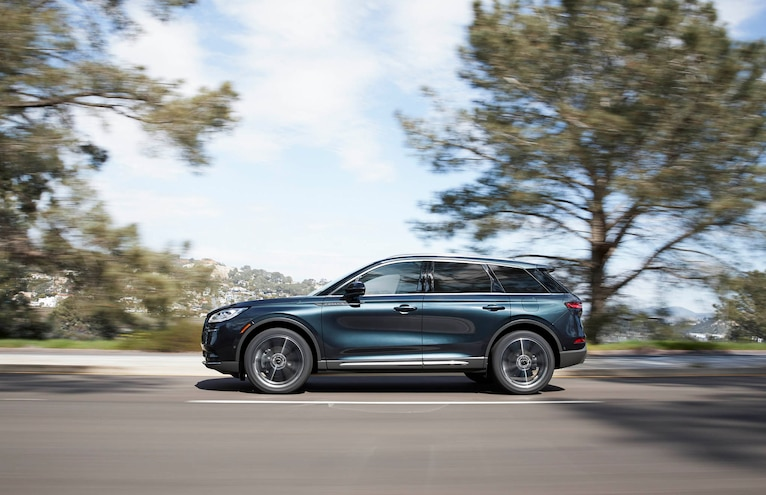 2020 Lincoln Corsair First Drive Side